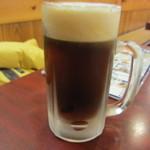 加賀屋 - 生ビール ハーフ&ハーフ 600円