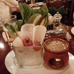17969562 - 彩り野菜のバーニャカウダ