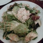 17969580 - ズワイ蟹とアボカドのサラダ