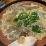 17969718 - 牛ロース柳川鍋:840円