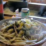 恵盛庵 - 料理写真:2012/3/すんきそば