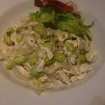 晩餐バール - ササミ、枝豆のマリネ
