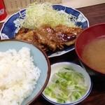佐久良屋 - 豚生姜焼定食