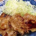 佐久良屋 - 豚生姜焼き