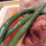 銀座サンジューシー - 御膳:季節の温野菜