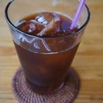 cafe Karin 果林 - 水出しのアイスコーヒー。