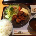 風来坊 - ランチのチキン南蛮定食780円