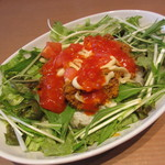 10°cafe - 角切りトマトのやみつきタコライス 750円