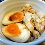 上州山賊麺 大大坊 - 肉玉飯  300円