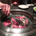 森辻 名張店 - 2013.03.23 ロース・カルビ・塩タン