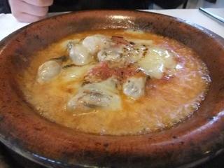 レストラン・バスク - 2013/03 サロマ湖牡蛎のグラタン