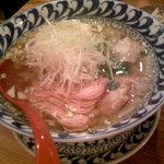 ラーメン武藤製麺所 - 塩ワンタン 800円