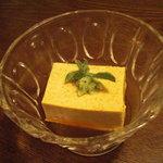 新むら - 海胆豆腐。