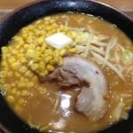 札幌らーめん みそ源 - 味噌バターコーン¥800