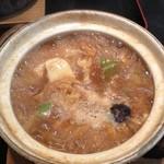 香流庵 - 料理写真:味噌煮込みうどん