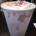 スターバックス・コーヒー - (2013/2月)「Sakuraホワイトチョコレート」ホット