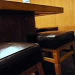 鈴新 - メッチャ低いカウンター&椅子