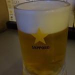 二代目 恵比寿ビヤホール - 乾杯ビール:189円