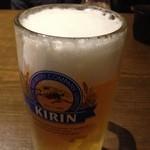 17985948 - 生ビール旨し