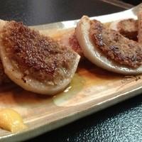 七福神 - ☆レンコンの肉詰め☆ 特製タレが後ひく美味さ!大人気のメニュー