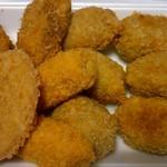 ごんどう - 料理写真:コロッケ・ミンチカツ・ハムカツ・チキンチーズ大葉巻き