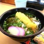 すし和歌丸 - 2013/3/21天ぷらうどん(¥350)これが一番高い(^-^)/