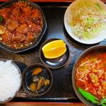 中国菜館味味 - 料理写真:台湾風酢豚ランチ