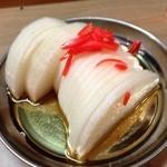 もつ焼き じんちゃん - 大根酢