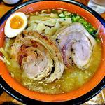 麺屋 一本気 - みそらー麺・めんま+ちゃーしゅうトッピング(2013年3月)