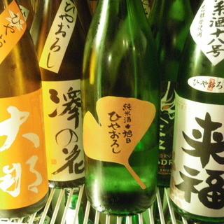 酒飲みも大満足!?地酒・日本酒をはじめ、人気の梅酒も豊富に取り揃えております♪