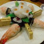 すし処 家族 - お寿司のケーキ