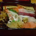 すし処 家族 - お昼ノランチ バラ寿司