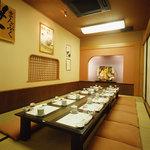 ばんどう太郎 - お仲間やご家族でのお席をお作りします。8~12名様用部屋