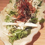 17990436 - 肉味噌豆腐サラダ