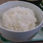 杏庵 - 炊きたてのご飯、大盛りOK! めちゃくちゃ美味しい♪