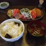 あぶさん - 港めし(1250円)