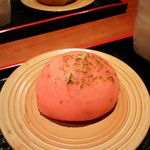 甘味処 いっぷく亭 - 桜餡おはぎ