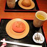 甘味処 いっぷく亭 - お茶とのセット 300円