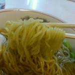 まつまる - 中華そば麺リフト