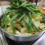 花山 - もつ鍋