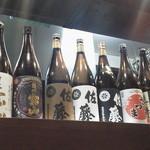 17996360 - 日本酒がづらーーーり!