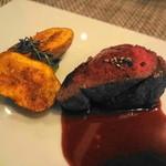 17997327 - 鹿肉のロースト マルサラルビーノソース