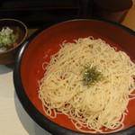 つけ鴨 鴨しん - 特製カレー麺 並(ラーメン・冷)