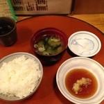 揚げたて天ぷら 天太 - 定食のセット