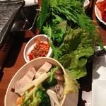 17998067 - 野菜食べ放題♡