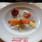 アルフォルノ - 2013/03/23 Cセットの前菜