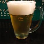 紹興酒家 浜椿 - 生ビール:577円