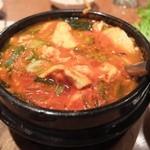 ソウル - コース料理 豆腐チゲ