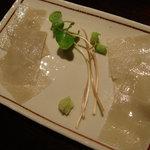 手打蕎麦おかむら - めずらしい蕎麦の刺身