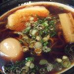 金久右衛門 - 大阪ブラック 煮卵トッピング